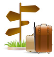 Travels vector image vector image