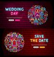 Wedding website banners