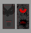 halloween design template place for your text vector image vector image