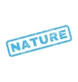 Nature Rubber Stamp vector image vector image
