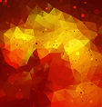 Red Abstract Triangle Background vector image vector image