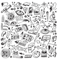 Science - doodles vector image vector image