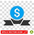 Banking Award Icon vector image vector image
