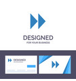 creative business card and logo template control vector image vector image