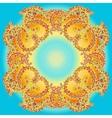 Hand drawn doodle mandala vector image vector image