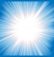magic starburst vector image vector image