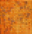Seamless pattern with orange tiles vector image vector image