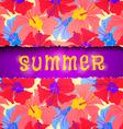 torn paper summer vector image