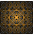 Gorgeous black gold seamless pattern vector image