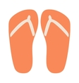 Beach sneakers summer shoes vector image vector image