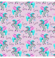 fantasy wallpaper tle with cute pegasus beautiful vector image