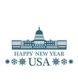 Greeting Card United States of America vector image vector image
