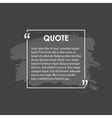 Quote text bubble Commas note message and vector image