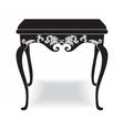 Rich Baroque coffee Table vector image vector image