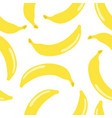 scattered bananas seamless pattern retro style vector image