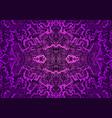 vintage psychedelic tryppi colorful fractal vector image vector image