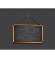 Blackboard Sign Background vector image