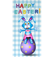 A happy easter card vector image vector image