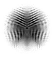 abstract halftone circles dot template eps 10 vector image