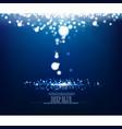 abstract illuminated precious underwater vector image vector image