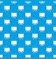 blank projection screen pattern seamless blue vector image vector image