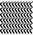 diagonal thin wavy lines seamless pattern vector image vector image