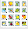 fruits and legumes vector image