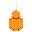 isolated arabic lamp icon vector image