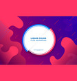 liquid color background design fluid gradient vector image vector image