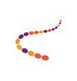molecule ilustration vector image
