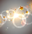 Romantic Starry Background vector image vector image