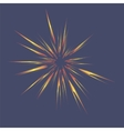 Star Burst Isolated vector image vector image