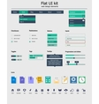 ui kit is a beautiful components featuring the vector image