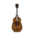 guitar acoustic instrument vector image