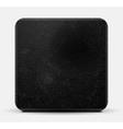 Black leather square design vector image