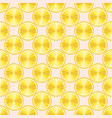cute lemon slice design seamless pattern vector image vector image