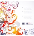 EPS 10 ink abstract background vector image vector image