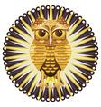 Golden Owl2 vector image vector image
