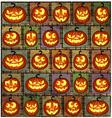 Halloween shabby background vector image vector image