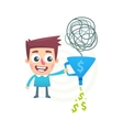 Make money out of nothing vector image