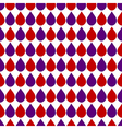 Red Purple White Water Drops Background vector image