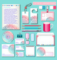 set design templates for business vector image