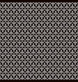 stock seamless pattern in thin line style vector image
