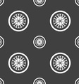 casino roulette wheel icon sign Seamless pattern vector image