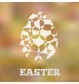 Eggblur vector image