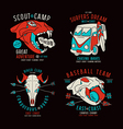 Graphic design for t shirt vector image vector image