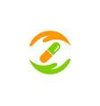help medicine logo icon design vector image vector image