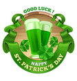 Saint Patricks Day vector image vector image