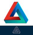 Abstract triangle logo