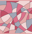 geometric background in dusty rose color vector image vector image